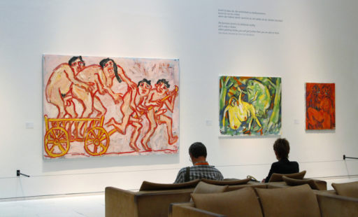 Paintings from 1984, exhibition view: MAK - Museum of Applied Arts, Vienna, 2004